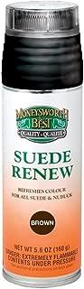 Moneysworth & Best Suede Renew Dye/Conditioner Color Spray 165 g / 5.8 oz, Brown