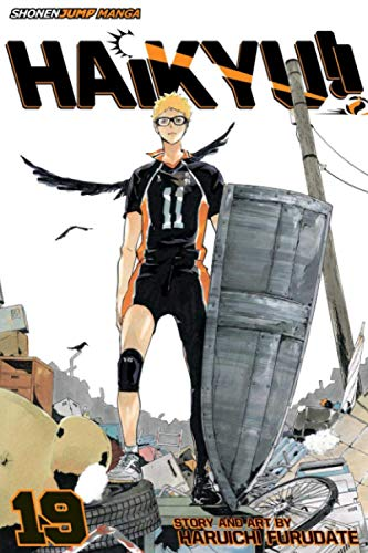 "Composition Notebook: Haikyuu Vol. 19 Anime Journal/Notebook, College Ruled 6"" x 9"" inches, 120 Pages"