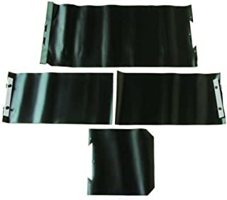 PROTECTIVE WAY COVER USED ON BRIDGEPORT MILLS COMPLETE SET Great Quality