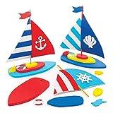 Baker Ross barca fai da te (Pacchetto di 3) attività creative per bambini e ottimi come regalini