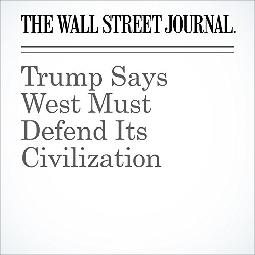 Trump Says West Must Defend Its Civilization copertina