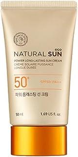 The Face Shop 2015 UPGRADE Natural Sun Eco Power Long-Lasting Sun Cream 50ml(1.69oz) SPF50 PA+++