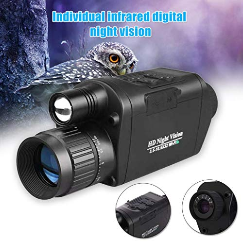 Read About YiiLshaoqx Waterproof Infrared HD Optical Night Vision Monocular Telescope Hunting Travel