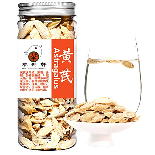 Plant Gift 100% Pure Astragalus Root, Huangqi Dried Bulk Herbs Traditional Medicinals, Chinese Herbs, Astragalus Organic, With Codonopsis And Astragalus Dragon Herbs 120G/4.23oz