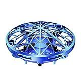 humorous Mini UFO Drone para Niños Niñas Recargable Helicoptero Juguete Inducción Infrarroja Movimiento Control Mano Flying Ball Toys 11.5x11.5x5cm