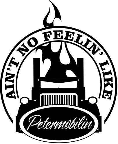 BD USA Peterbilt Ain't No Feelin Decal, Decal Sticker Vinyl Car Home Truck Window Laptop