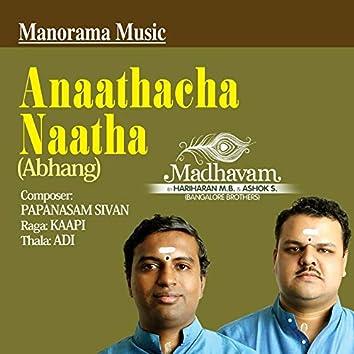 "Anaathacha Naatha (Abhang) from ""Madhavam"""