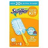 Swiffer Staubmagnet Starterset, mit 1 Griff und 3 Tücher mit Febreze-Duft