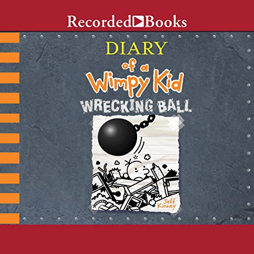 Diary of a Wimpy Kid: Wrecking Ball audiobook cover art