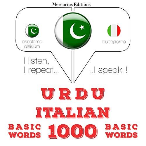 Urdu - Italian. 1000 basic words cover art