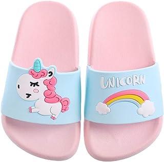 Unicorn Slide Sandals for Girls Boys - (Kids Toddlers) Slippers