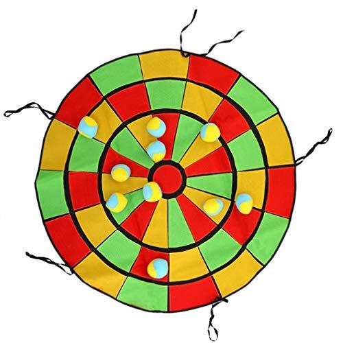 Garneck Dartbordspel Soft Tag Game Bal Doelspel Dartbord Dartspel Cadeau Voor Kinderen Binnenshuis Binnenshuis Spelgrootte S