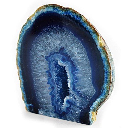 Achat Geode - Blau