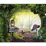 murando Papier peint intissé 350x256 cm Décoration Murale XXL Poster Tableaux Muraux Tapisserie Photo Trompe l'oeil abstraction nature 10110903-40