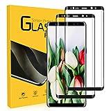 UTEAMY Verre trempé pour Samsung Galaxy Note 8 Protection d'Écran [2 Pack] 3D Couverture Complète...