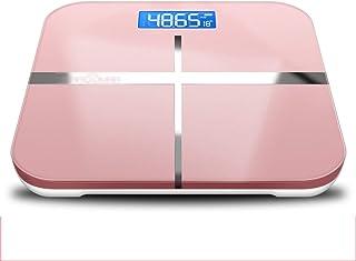 Básculas Peso medidor de impedancia Inteligente del Consumo eléctrico del Cuerpo Escala de Grasa Bluetooth USB inalámbrico Digital Recargable Baño Cuerpo Corporal Pila AAA