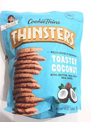 Mrs Thinster's Cookie thins Toasted coconut 19oz NON GMO