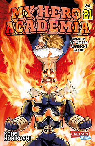 My Hero Academia 21: Die erste Auflage immer mit Glow-in-the-Dark-Effekt auf dem Cover! Yeah!