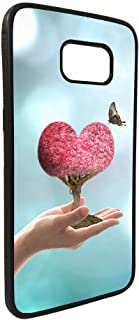 كفر جلاكسي نوت 5 بتصميم رومانسي - قلب