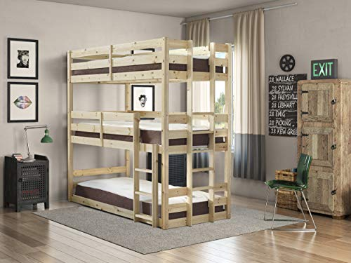 Strictly Beds and Bunks - Pandora Triple Sleeper, 3ft Singl