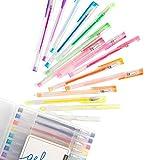 U Brands Metallic Gel Pens, Assorted Colors, 30-Count, 2225U06-24