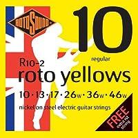 ROTOSOUND R10 roto yellows (10-46) ロトサウンド エレキギター弦 【国内正規品】