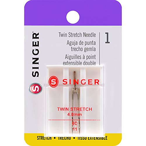 SINGER 04719 Universal Twin Stretch Sewing Machine Needle
