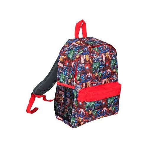 8ebe71b977de Marvel ® Avengers Official Backpack for Children Boys Girls Adults Comics  Back Pack Travel Rucksack Bag  The Avengers  Amazon.co.uk  Clothing