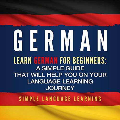German: Learn German for Beginners audiobook cover art