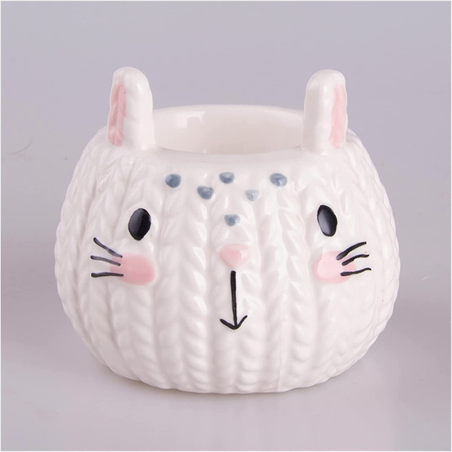 Egg cup Max 86% Special sale item OFF Ceramic Hand-painted Tray Small Child Cute Ornaments