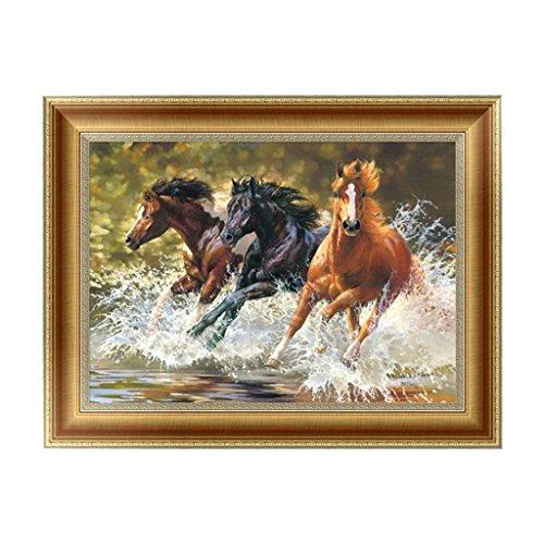 Arich Horse 5D Diamond Painting Embroidery Cross Stitch DIY Art Craft Home Wall Decor