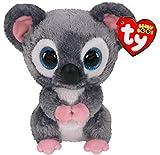 TY- Beanie Boo's-Peluche Katy Le Koala 15 cm, TY36154, Gris/Rosa