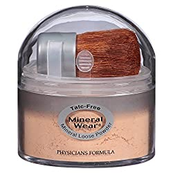 Mineral wear loose powder