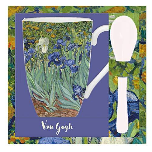 Van Gogh, Taza con cucharas 'Iris', Enesco