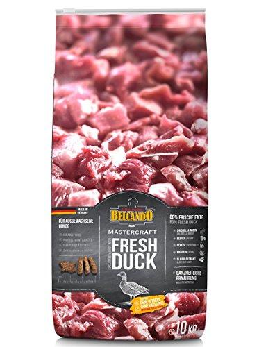 Belcando Mastercraft Fresh Duck [10kg] Trockenfutter für Hunde | 80% Frischfleisch | Hundefutter getreidefrei | sortenrein | für alle Rassen
