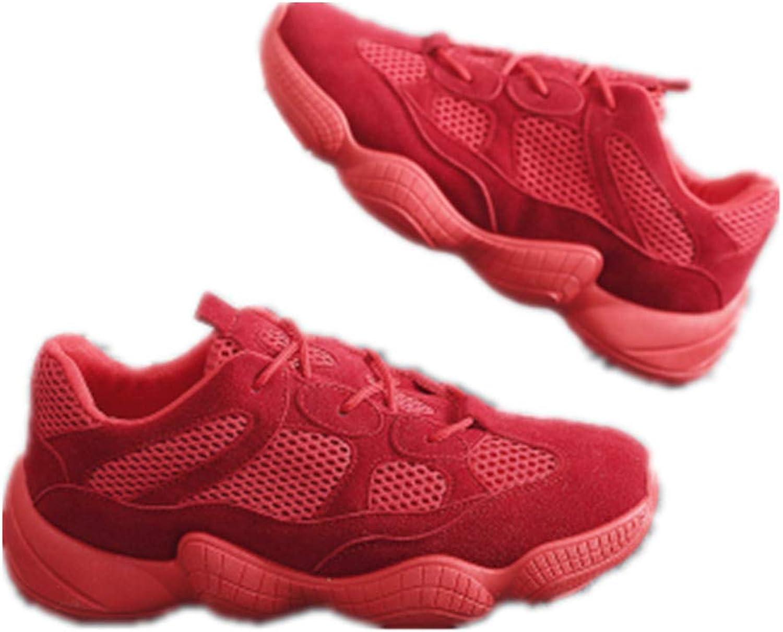 Women High Heels Wedges Sneakers Mesh Breathable Tennis Walking Sneaker Fashion Platform Toning Rocker shoes