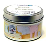 Baby Powder 4oz, Super Scented Soy Candle Tin