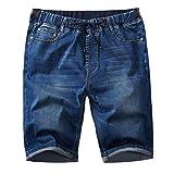 Pantalones Cortos De Jogg Jeans De Los Hombres Slim Fit Stretch Cómodo Outdoor Denim Short Casual Moda De Verano Pantalones Bermudas De Verano Pantalones Cortos De Sudor Hombres NEN