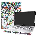 Alapmk Protective Case for 15.6' HP Pavilion 15 15-csXXXX 15-cwXXXX & Acer Aspire 5 15 A515-52 A515-43 & Dell Latitude 3510 Laptop[Not fit Pavilion 15 15-cuXXX 15-ccXXX/Aspire 5 A515-54],Love Tree
