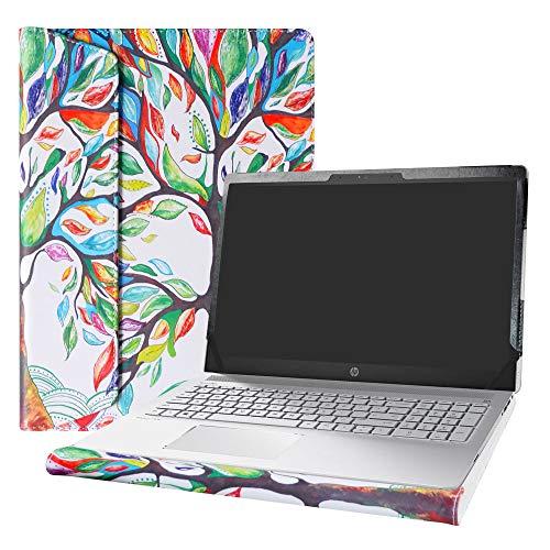 "Alapmk Diseñado Especialmente La Funda Protectora para 15.6"" HP Pavilion 15 15-csXXXX 15-cwXXXX & Acer Aspire 5 15 A515-52 A515-43 & DELL Latitude 3510 Laptop,Love Tree"