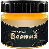 ZoneYan Cera para Condimentos de Madera, Wood Seasoning Beewax, Prueba de Agua Muebles de Enfermería Pulido Cera Madera Condimento Cera de Abejas