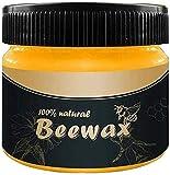 Cera d'api Cura dei Mobili, ZoneYan cera d'api per la cura, cera per legno Polishe, Beeswax Wood Seasoning, Cera d'api Naturale Cura
