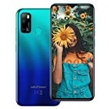 Ulefone Note 9P (2020) Cell Phones Unlocked, Android 10 Octa-core 4GB + 64GB ROM, 16MP Triple Rear Camera + 8MP Front Camera, 6.52' HD+ Screen 4500mAh Big Battery Dual 4G Unlocked Smartphones -Blue