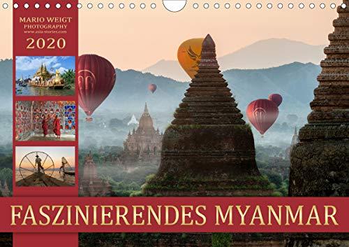 FASZINIERENDES MYANMAR (Wandkalender 2020 DIN A4 quer)