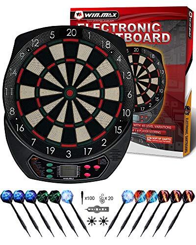 WIN.MAX Electronic Dart Board,So...
