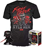 Funko Star Wars Episode IX Pop! & tee Box Kylo REN (Supreme Leader) heo Exclusive Size...