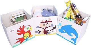 KANGJIABAOBAO Toy Storage Box Storage Basket For Organizing Toy Storage Baby Toys Toys Dog Toys Baby Clothing Children Books Childrens Toy Box  Color Small animals  Size Free size