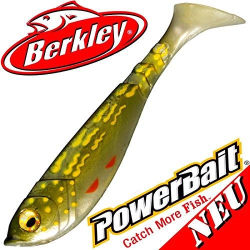 Berkley Powerbait Pulse Shad Gummifisch 8cm Pike 2016/5 Stück im Set NEU 2016