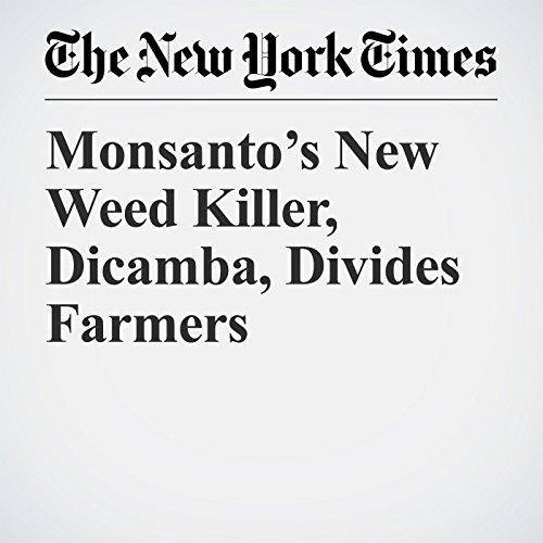 Monsanto's New Weed Killer, Dicamba, Divides Farmers copertina