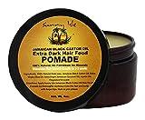 Sunny Isle Jamaican Black Castor Extra Dark Oil Hair Food Pomade, Orange, 4 Fl Oz